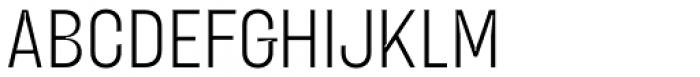 Blimone Light Inktrap Font UPPERCASE