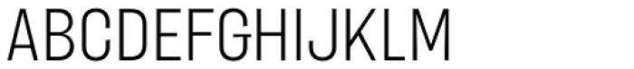 Blimone Light Font UPPERCASE