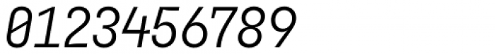 Blimone Regular Italic Font OTHER CHARS