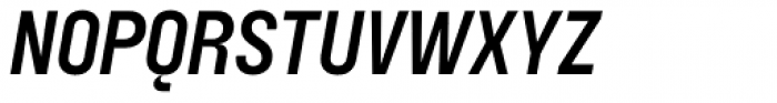 Blimone Semi Bold Italic Font UPPERCASE