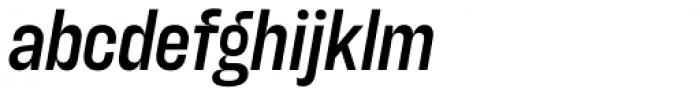 Blimone Semi Bold Italic Font LOWERCASE