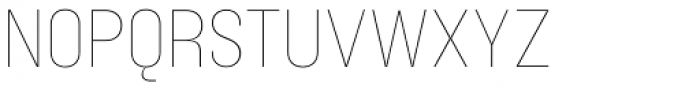 Blimone Thin Font UPPERCASE