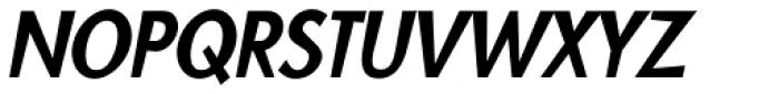 Blitz Condensed Medium Italic Font UPPERCASE