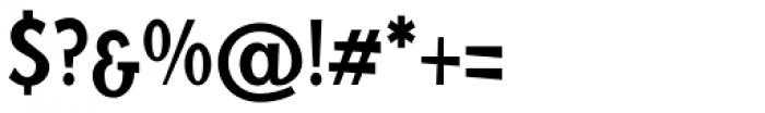 Blitz Condensed Medium Font OTHER CHARS
