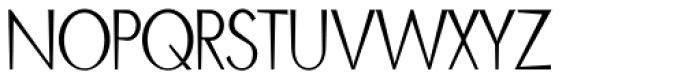 Blitz Condensed Thin Font UPPERCASE