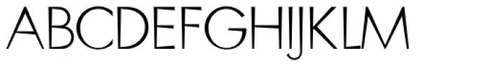 Blitz Thin Font UPPERCASE