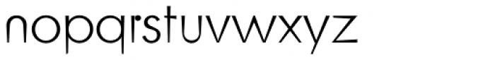Blitz Thin Font LOWERCASE