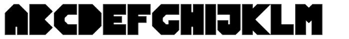 Blitzeffekt Bold Font UPPERCASE