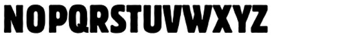 Block BQ Cond Font UPPERCASE