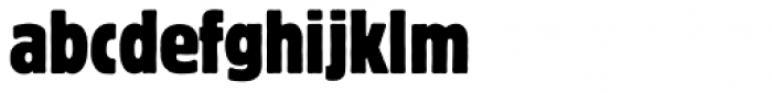 Block BQ Cond Font LOWERCASE