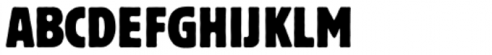 Block Berthold Condensed Font UPPERCASE