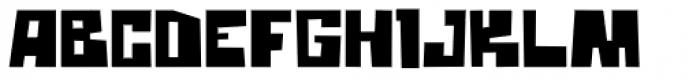 Block Box Font UPPERCASE