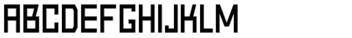 Block Light Font UPPERCASE