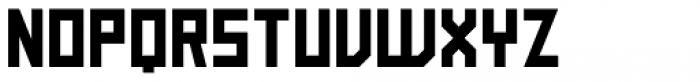 Block Medium Font UPPERCASE