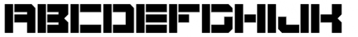 BlockOut Open Ultra Font UPPERCASE