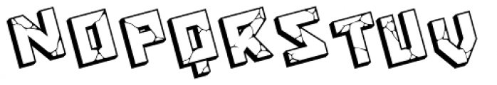 Blockbuster Italic Font LOWERCASE