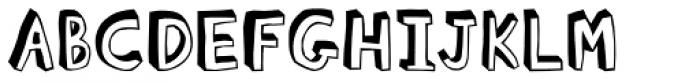 Blockhead Dark Side Font UPPERCASE