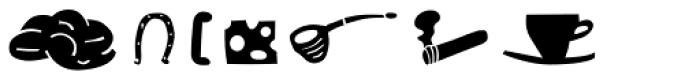 Blockhead Illustrations Unplugged Font LOWERCASE