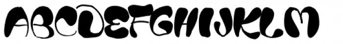 Blods Font UPPERCASE