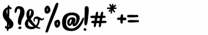 Blog Script Font OTHER CHARS