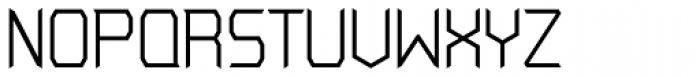Blomfer Light Font UPPERCASE