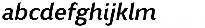 Blond Medium Italic Font LOWERCASE