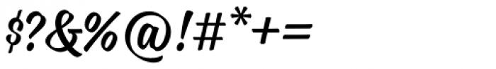 Blonde Script Font OTHER CHARS