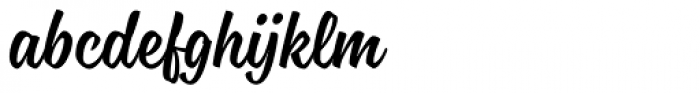 Blonde Script Font LOWERCASE