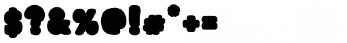 Blonk Regular Font OTHER CHARS