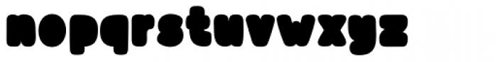Blonk Regular Font LOWERCASE