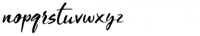 Blooms Regular Font LOWERCASE