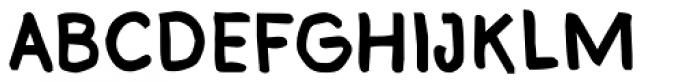 Bloop Bold Font UPPERCASE