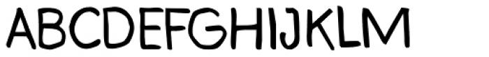 Bloop Font UPPERCASE