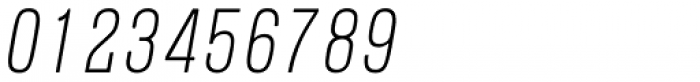 Blop11 Light Italic Font OTHER CHARS