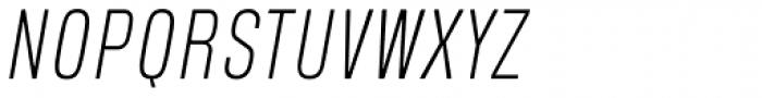 Blop11 Light Italic Font UPPERCASE