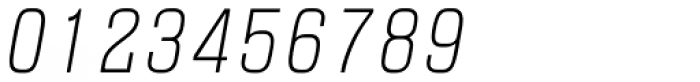 Blop77 Light Italic Font OTHER CHARS