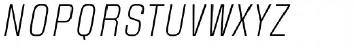 Blop77 Light Italic Font UPPERCASE