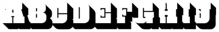 Bloque 3D Font UPPERCASE