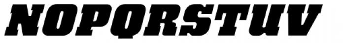 Bloque Layer 1 Italic Font UPPERCASE