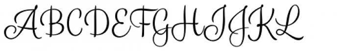 Blossoms Light Font UPPERCASE