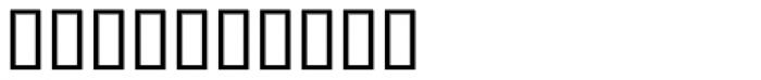 Blot Test Font OTHER CHARS
