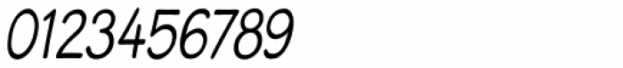 Blound Condensed Oblique Font OTHER CHARS
