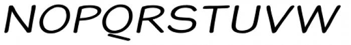 Blound Expanded Oblique Font UPPERCASE