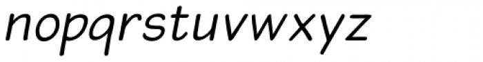 Blound Oblique Font LOWERCASE