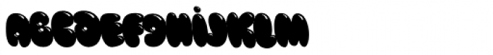Blow Up Font LOWERCASE