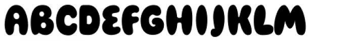 Blowfish Font UPPERCASE