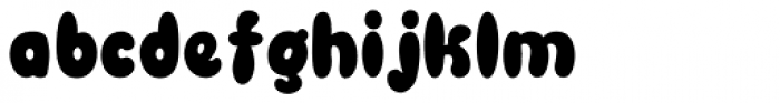 Blowfish Font LOWERCASE