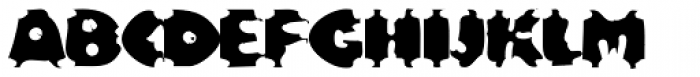 Bloxx EF Font UPPERCASE