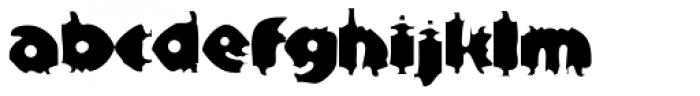 Bloxx EF Font LOWERCASE