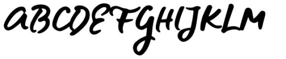 Blue Fires Regular Font UPPERCASE